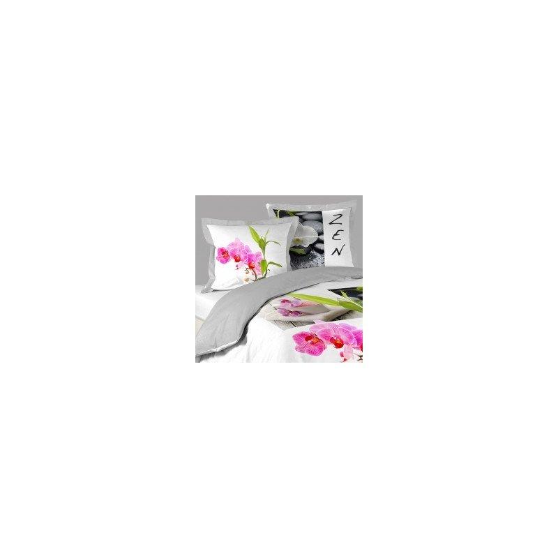 parure de lit zen 220 x 240. Black Bedroom Furniture Sets. Home Design Ideas