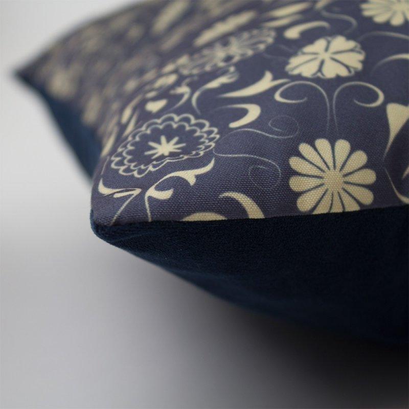 Coussin bora 45 x 45 cm motif 1 - Housse de coussin 45 x 45 ...