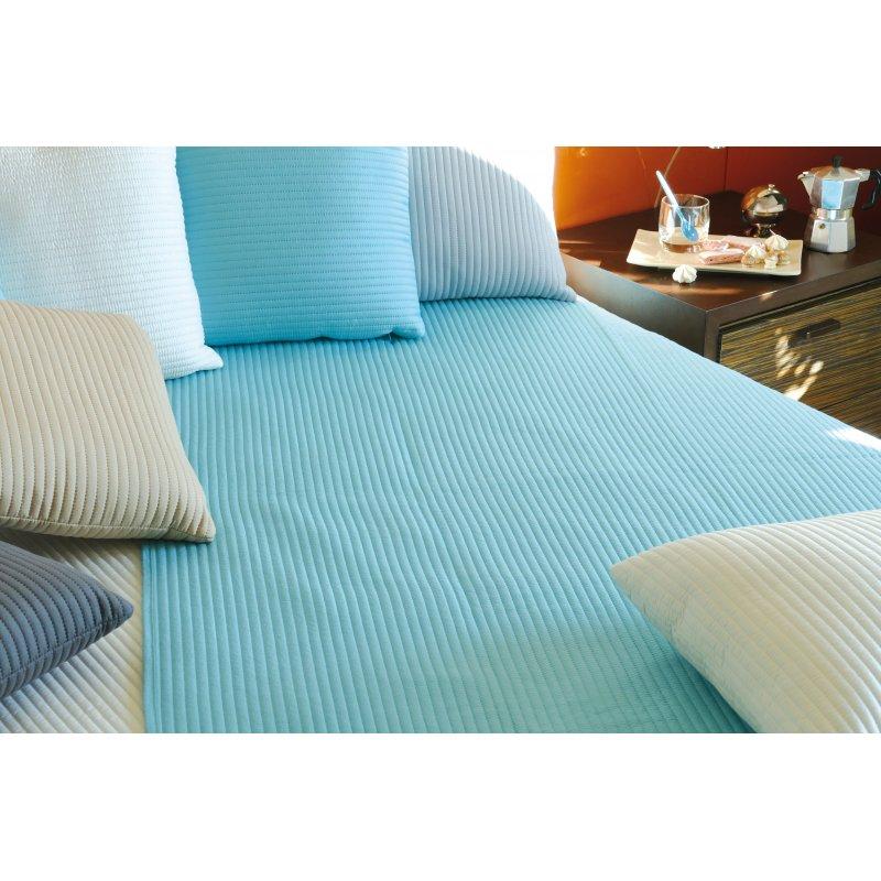 couvre lit plaid andy 2 dimension 8 coloris. Black Bedroom Furniture Sets. Home Design Ideas