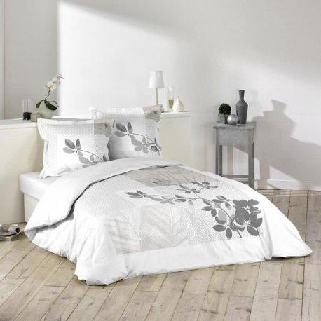 parure de lit sybille 240 x 220 cm. Black Bedroom Furniture Sets. Home Design Ideas