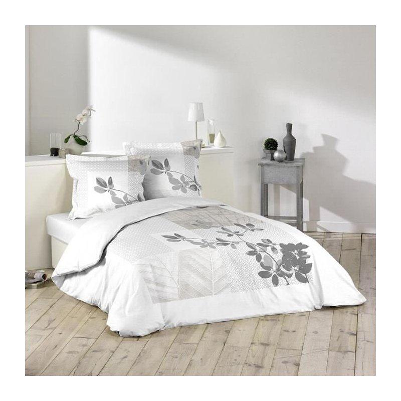 Parure de lit sybille 240 x 220 cm for Parure de lit blanche