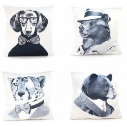COUSSIN ANIMALS STORY -4 motifs