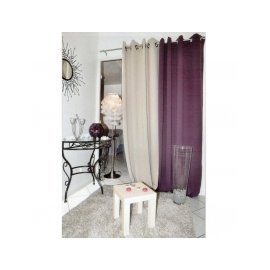 RIDEAU OCCULTANT NIGHT 135 X 260 TAUPE