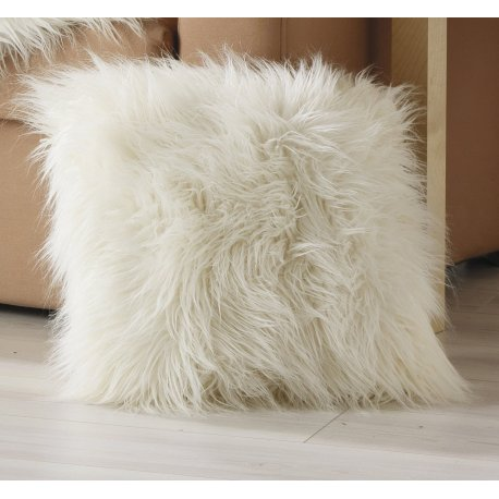 COUSSIN LOUP BLANC