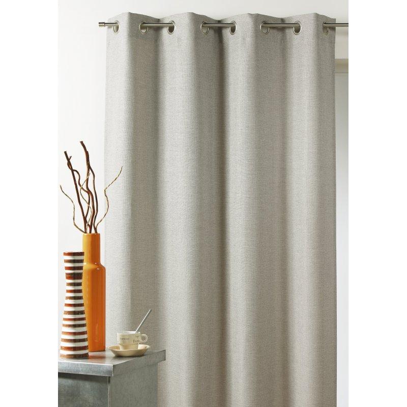 rideau louka isolant phonique et thermique 135 x 260