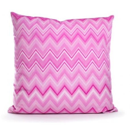 Coussin ania rose