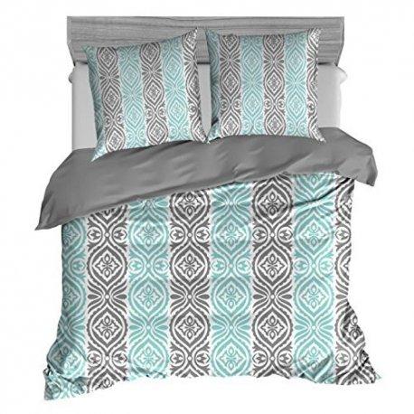 parure de couette eden 220 x 240 cm 2 coloris. Black Bedroom Furniture Sets. Home Design Ideas