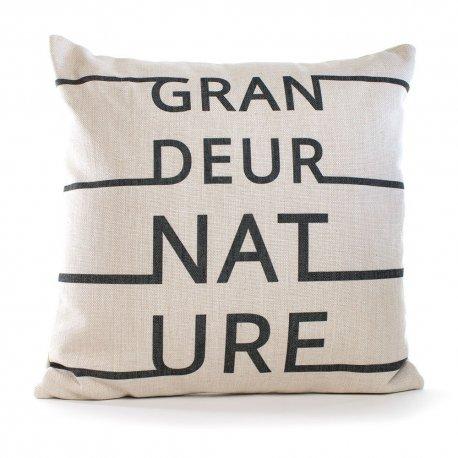 COUSSIN GRANDEUR NATURE 45 X 45