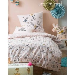 DRAP HOUSSE LITTLE PRINCESS 90 X 190 CM