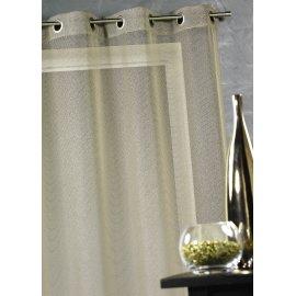 VOILAGE MARGAUX 140 X 260 CM - lin ou blanc
