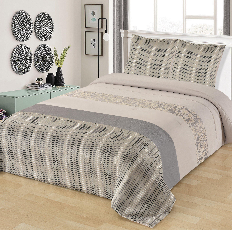 couverture de lit couette couvre lit leradore pcs pur coton ensembles de couverture de lit. Black Bedroom Furniture Sets. Home Design Ideas