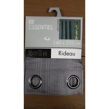RIDEAU SHIFUMI 140 X 250 - gris