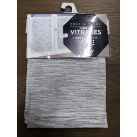 VITRAGE CHARLIE 60 X 120 GALET