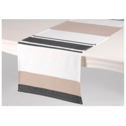 CHEMIN DE TABLE BRUME 45 X 150