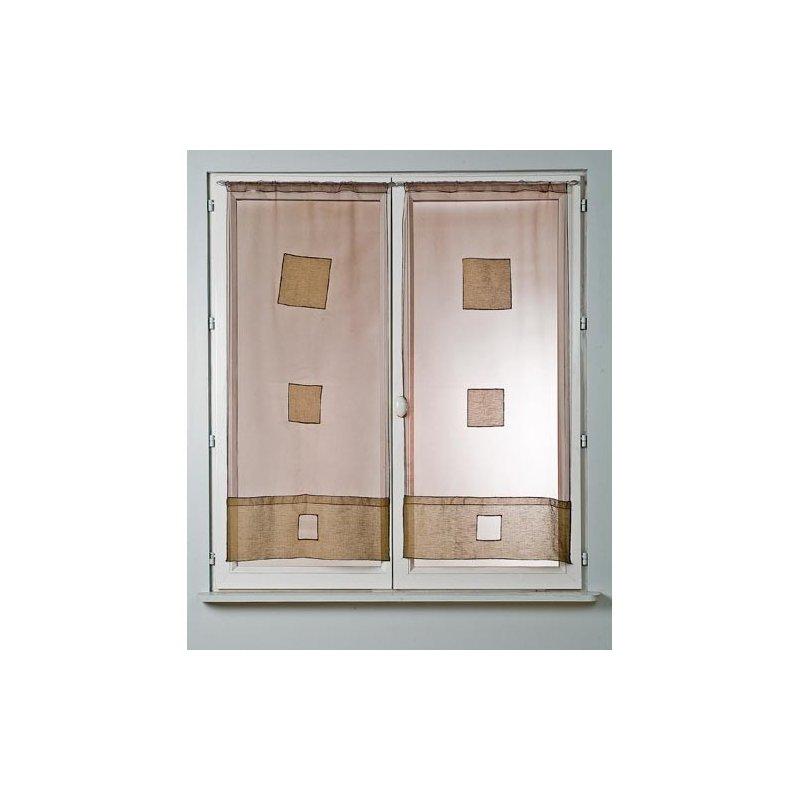 paire de vitrage 45 x 120. Black Bedroom Furniture Sets. Home Design Ideas